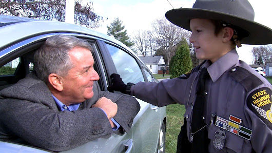 How a young boy's encounter with a state trooper changed his life