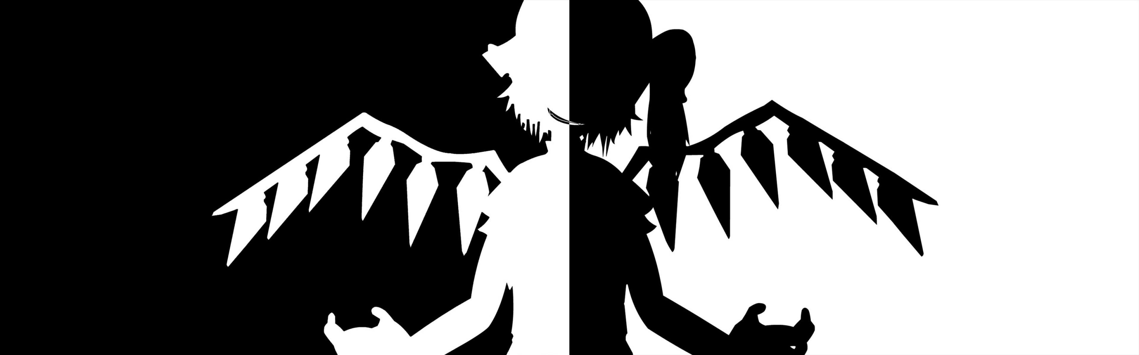 Dual Monitor Wallpaper Anime Sf Wallpaper