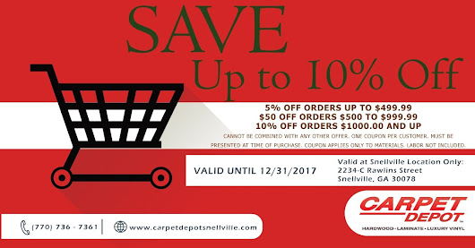 December 2017 Coupon | Carpet Depot