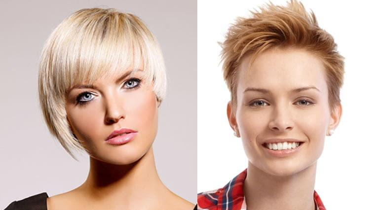 Classy Red Hair Color 2018 Short Hairstyles For Girls With Diamond