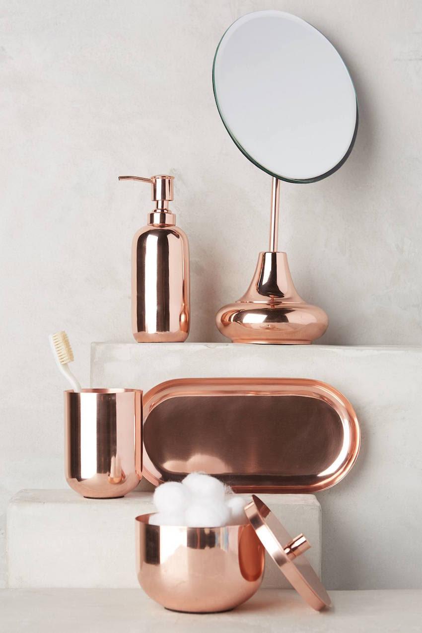 Luxury Bathrooms: Rose Gold is Design Trend