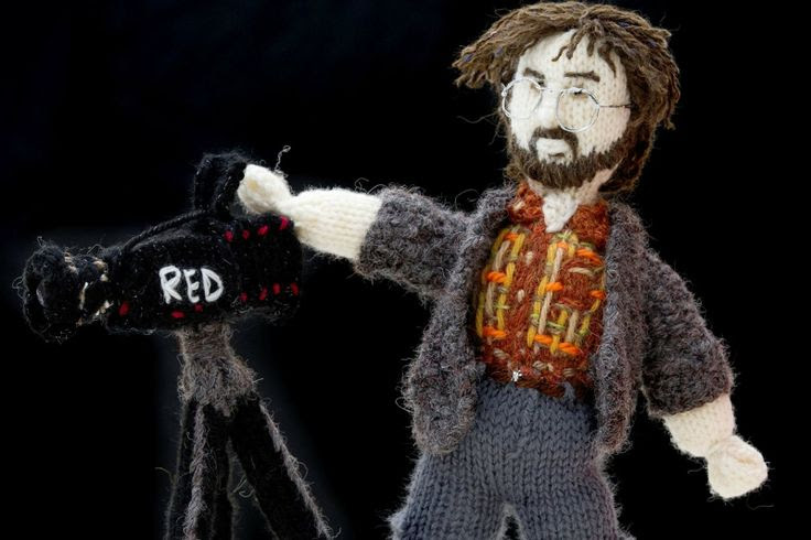 Grandmother's stunning knitted models of Lord of the Rings and The Hobbit characters (Peter Jackson)