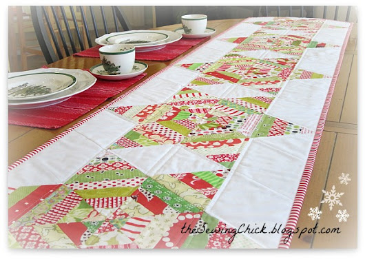 Tutorial – A String Stars Table Runner for Christmas