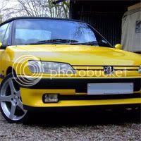 sahara yellow peugeot 306