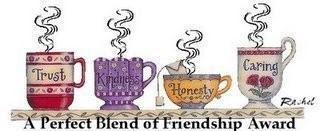 Perfect Blend Friendship Award