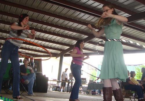 Danielle Hillman, Amy Lynn Scott, Texas Ave Maker's Fair, Spring 2011 by trudeau