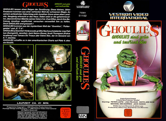 Ghoulies (VHS Box Art)