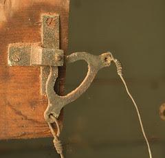Remote Door Bell Mechanism - Brian Eno Speaker Flowers Sound Installation at Marlborough House