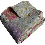 Greenland Home Blooming Prairie Accessory Throw Blanket