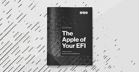 The Apple of Your EFI: Mac Firmware Security Research