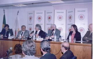 Associação Comercial de SP discute o referendo sobre desarmamento