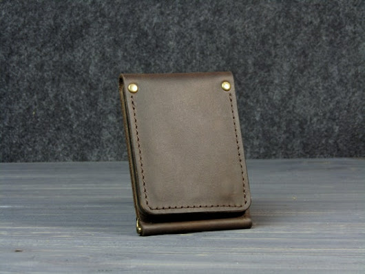 Personalized Leather wallet Personalized wallet mens leather