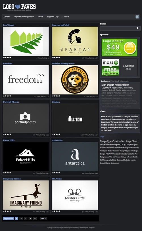 Logo Faves Logo Inspiration Gallery 20100921 23 Páginas web para inspirarnos con logos