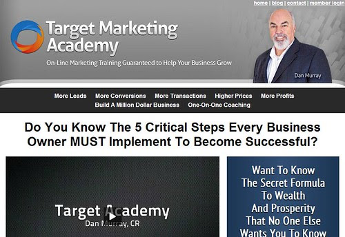Target Marketing Academy by Dan Murray by totemtoeren