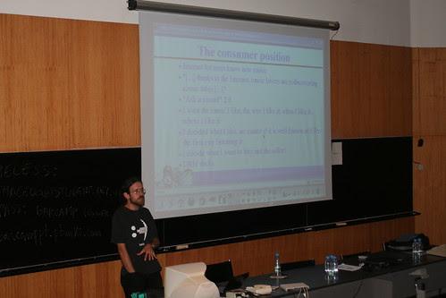 Mind Booster Noori on BarCamp Portugal