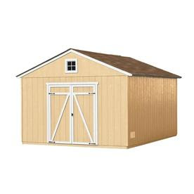 Heartland Statesman Gable Wood Storage Shed (Common: 12-ft x 16-ft