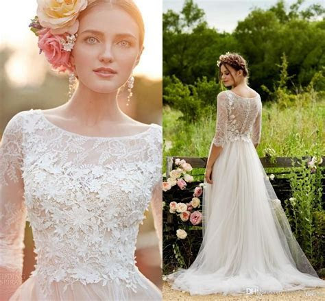 17  Enticing Wedding Dresses Vintage Bohemian Ideas