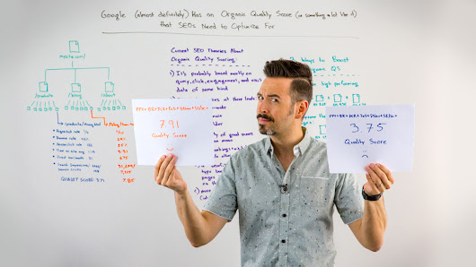 Google (Almost Certainly) Has an Organic Quality Score (Or Something a Lot Like It) that SEOs Need to Optimize For - Whiteboard Friday