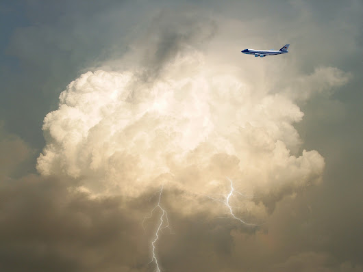 What happens when a plane gets struck by lightning? - NATS Blog