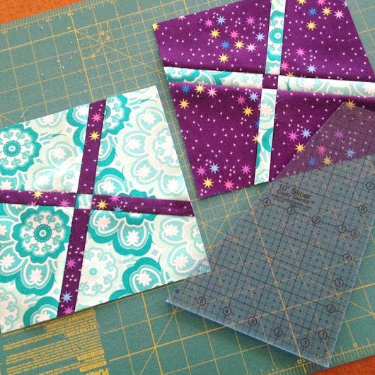 Tutorial: Wonky Cross Block • The Crafty Mummy