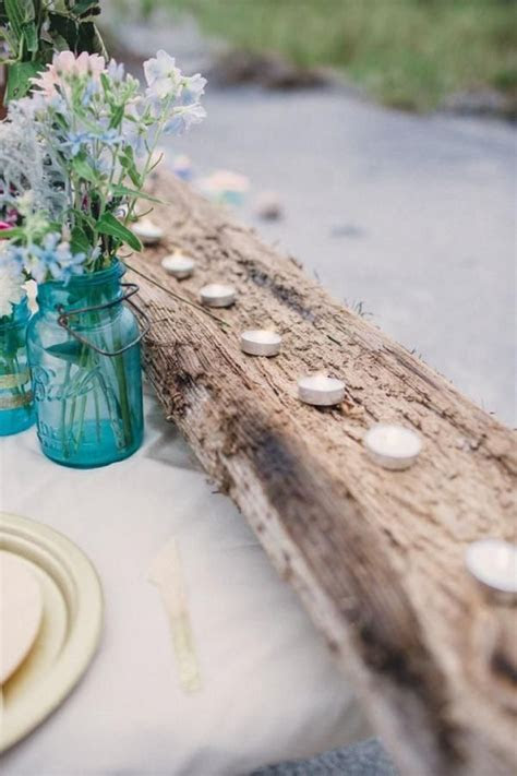 30 Woodland Wedding Table Décor Ideas   Beautiful Wedding