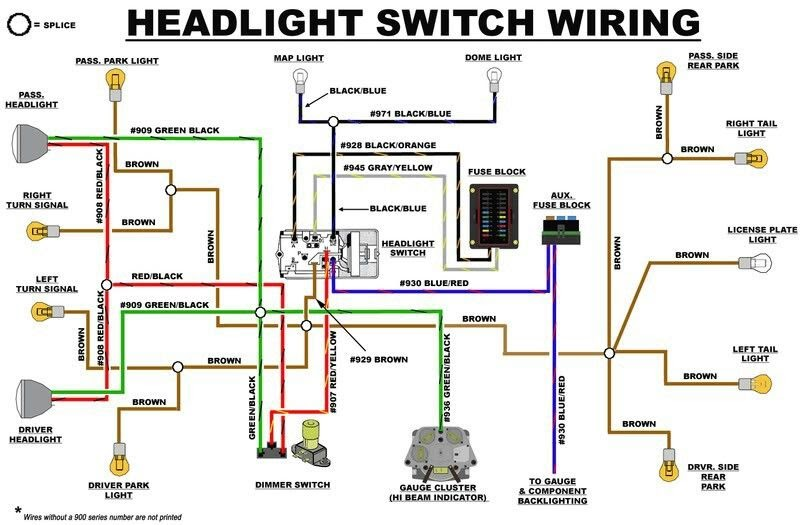 924 Released Bronco 2 Wiring Diagram Headlight Switch Read