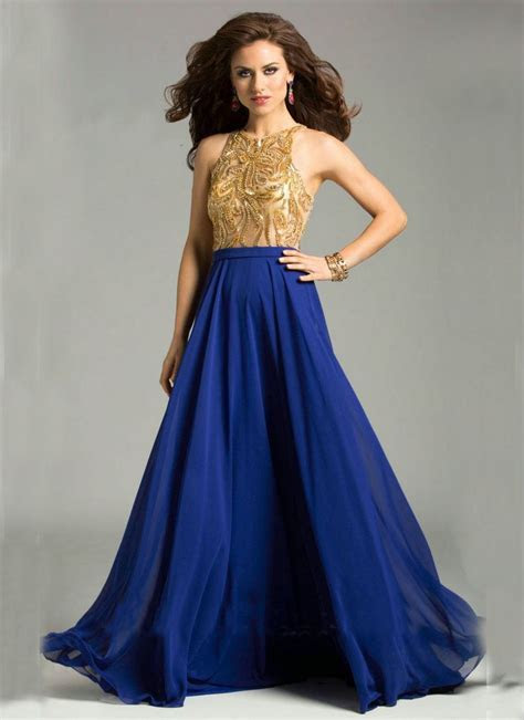 bridesmaid dresses in royal blue gold   Royal Blue Dress