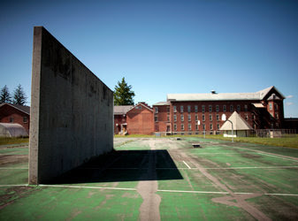New York wants to sell the former Oneida Correctional Facility in Rome, but for now, no one is using the prison or its amenities, like a handball court.