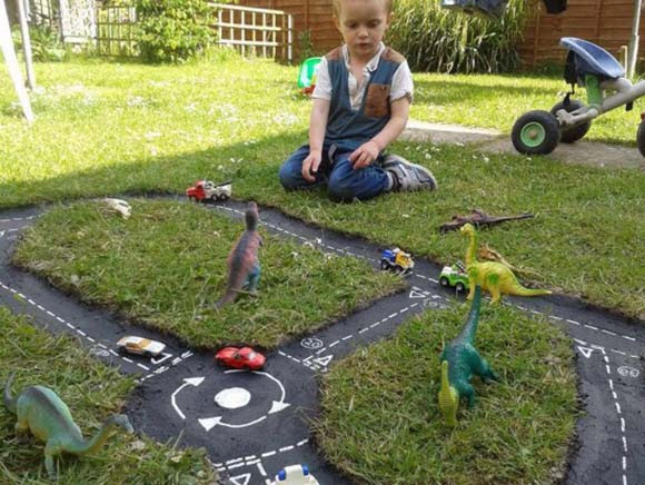Slot cars for toddlers