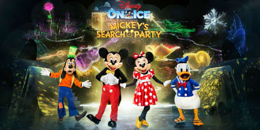 Disney On Ice presents Mickey's Search Party at Amway Center Sept 7-9 + Ticket Giveaway! | CitySurfing Orlando