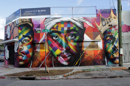 Tupac tribute murals and graffiti from around the world