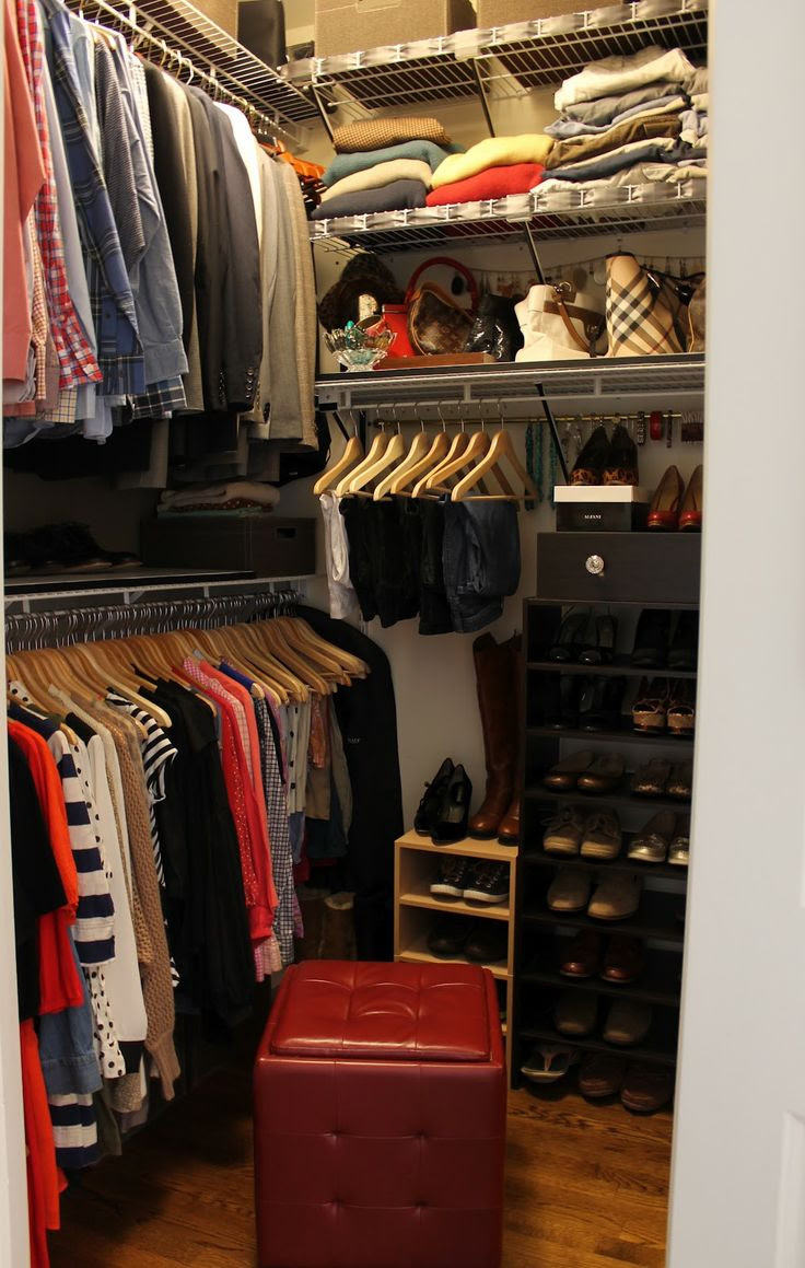 Genius Small Walk in Closet Makeover for Master Bedroom Ideas
