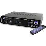 Pyle Home Theater Bluetooth Hybrid Pre-Amplifier Stereo Receiver | P2203ABTU by VM Express