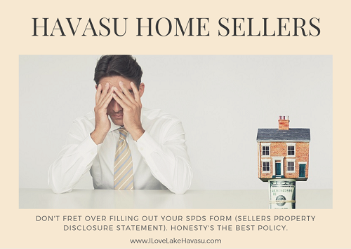 Havasu Home Sellers: Don't Fret Over the SPDS Form
