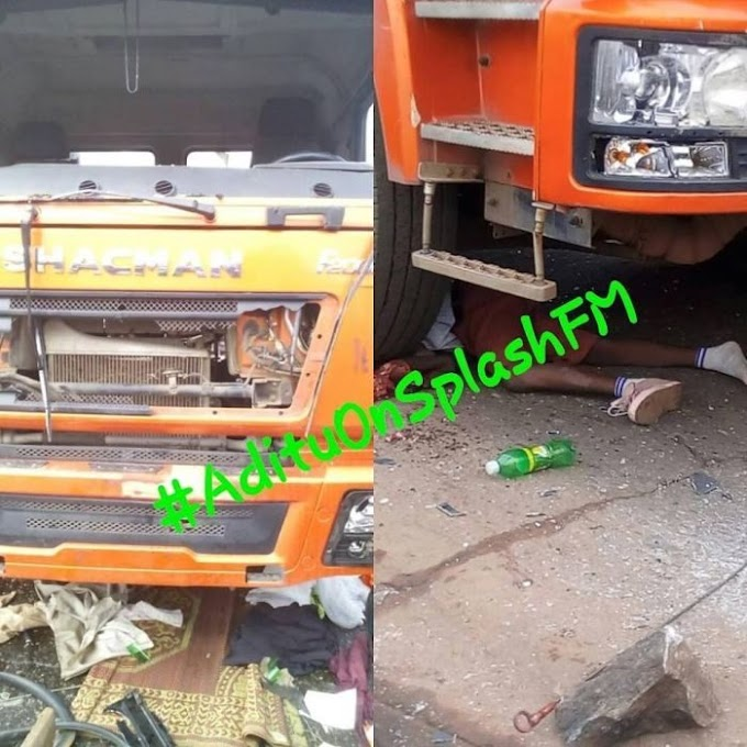14-Year-Old JSS1 Student Crushed To Death To By Truck In Okene (Graphic Photos)