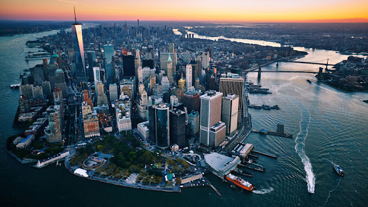 These stunning aerial photos of NYC will take your breath away