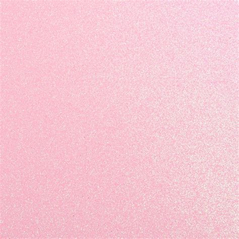 10 Pale Pink Glitter Card A4 Sheets, Glitter Card at