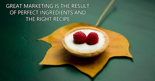 Photography Marketing Needs Perfect Ingredients And The Right Recipe