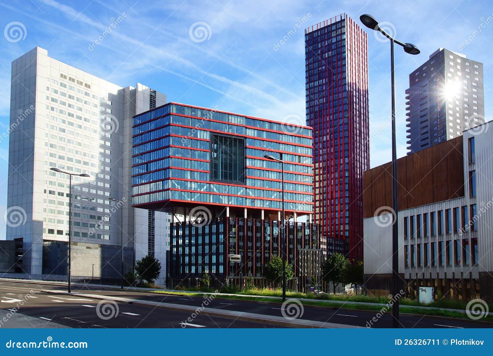 Moderne Architektur Im Rotterdam, Die Niederlande