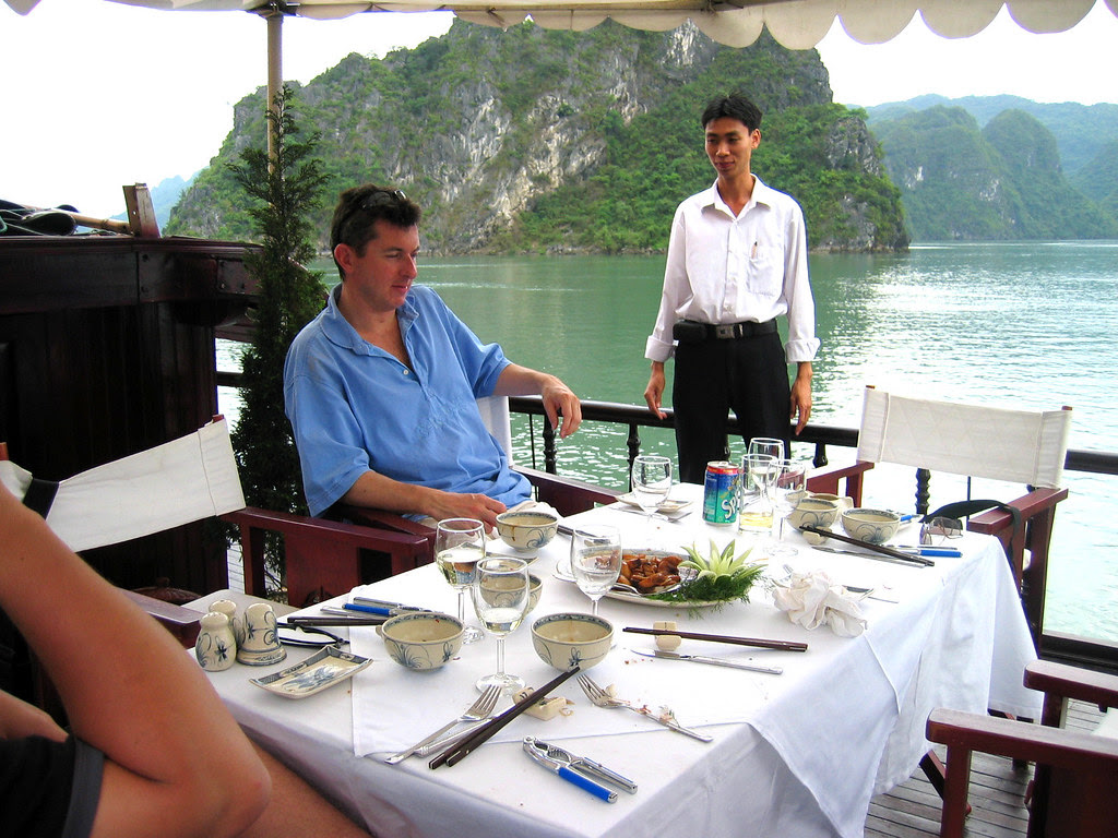 After First Lunch on Board