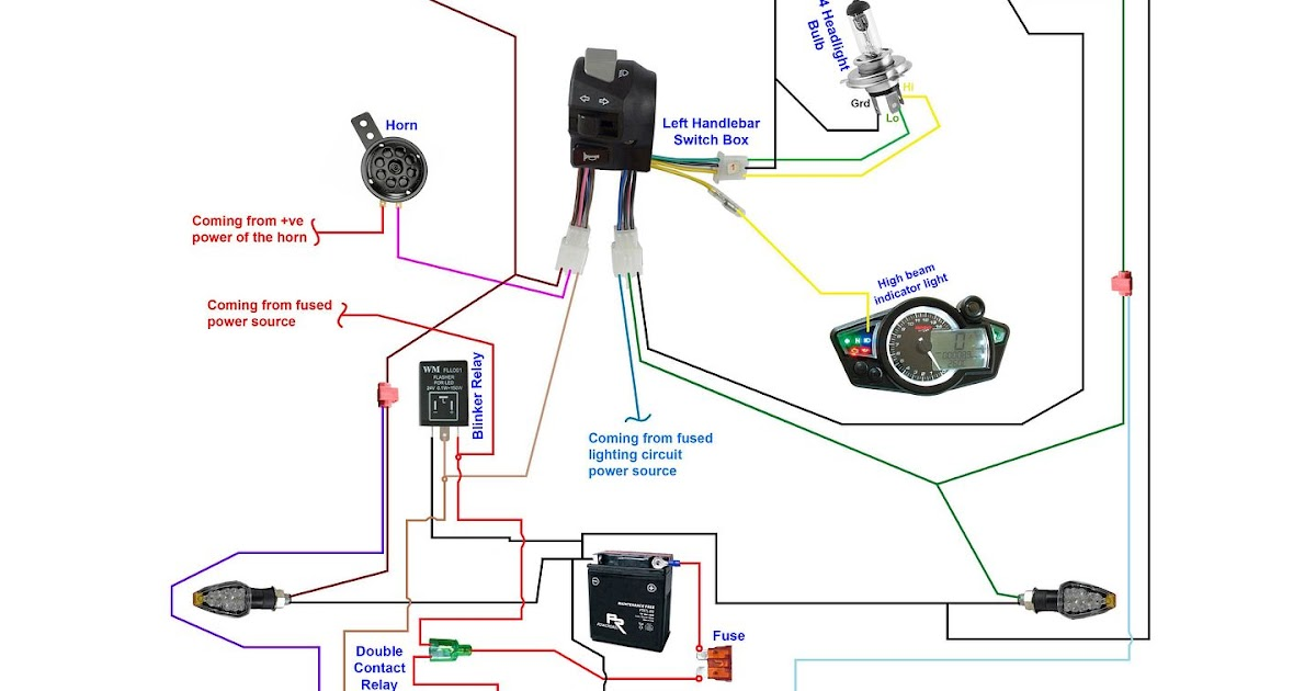 18 Awesome Motorcycle Ignition Switch Wiring Diagram