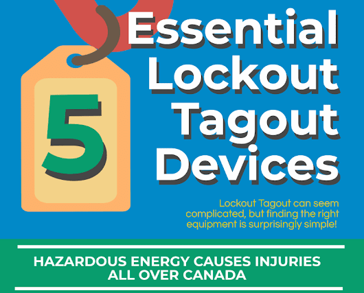 InfoGraphic: Essential Lockout Tagout Devices | SafetyVantage