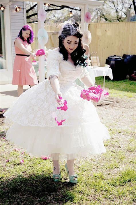 Lola, Tangled: DIY Vintage Backyard Wedding on a Tiny
