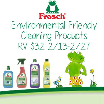 rv giveaway sweepstakes frosch environmental friendly cleaning products giveaway 3394