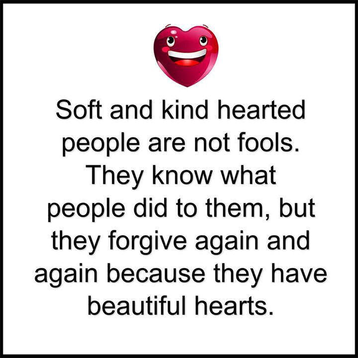 Soft Kind Hearted People Have Beautiful Hearts Pictures Photos And