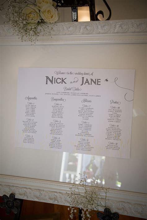 Ornate White Frame  Large (Seating Chart)   Wedding Hire