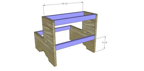 plans  build  step stool
