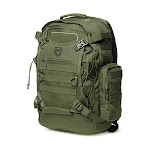 Cannae Pro Gear Phalanx Full Size Duty Helmet Carry Military Backpack Pack, Sage by VM Express