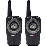 Cobra - PRO series 28-Mile FRS 2-Way Radios (Pair) - Black