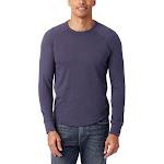 Alternative Men's Kickback Vintage Heavy Knit Pullover Sweatshirt